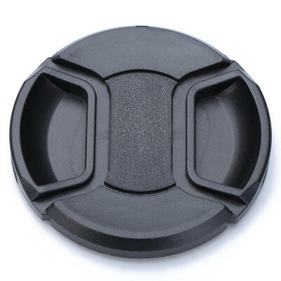 62mm Center Pinch Snap On Front Lens Cap Cover For Canon Nikon Sony DSLR Camera