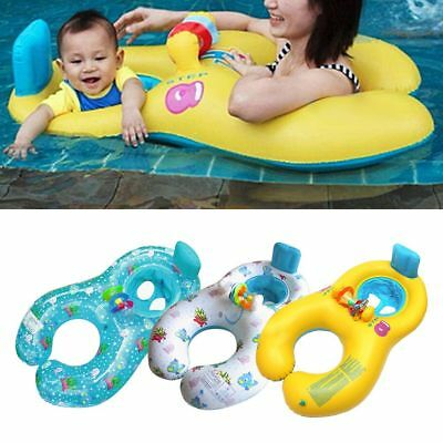 Baby&Mother Aids Infant Swimming Neck Float Inflatable Tube Ring Safety