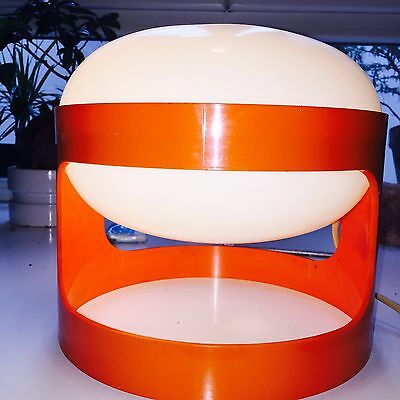 Lampe originale de Joe Colombo (KD27 orange)
