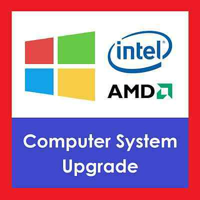 Upgrade to Intel i78700Six Core 3.2GHz 8th Gen CPU