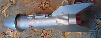 Astro mfg mecanical bank 11 inches tall Working Condition USA Rocket Space Lauch
