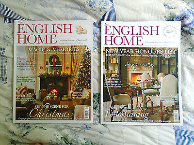 39 the english home 39 magazine x 2 december 2016 january for English house magazine