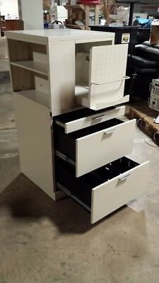 HON Metal Lateral File Cabinets w/ Shelf Storage, Book Shelf, Office or Home Use