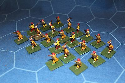 25mm Dervish/Arab/Bedouin  painted suitable for Sword and Flame (21 figures)