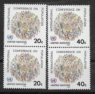 United Nations 1984 International Population Conference MNH
