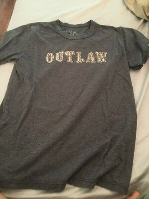"Chaser Kids ""outlaw""  Short Sleeve T-Shirt Size 10"