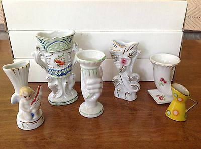 """VINTAGE Six Pieces of China (2""""-4.5"""") (Made in Japan)"""