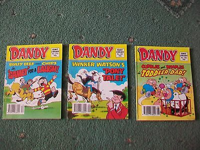 Dandy Comic Library no 266, 267, 270 from 1984