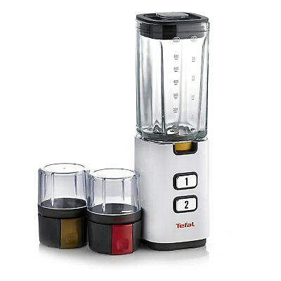 White Tefal Fruit Sensation with Accessories BL142140, 300 W Blender Two Speeds