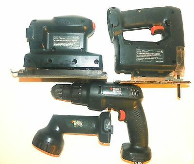 how to use a black and decker power drill