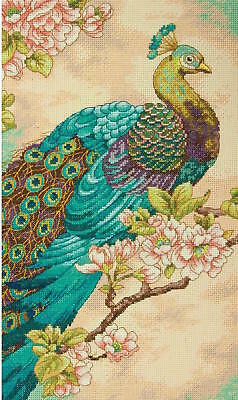 Dimensions Needlecrafts 35293 Indian Peacock Counted Cross Stitch Kit