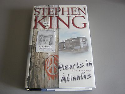 Signed Copy Of Hearts In Atlantis By Stephen King - 1St Edition Mint Condition
