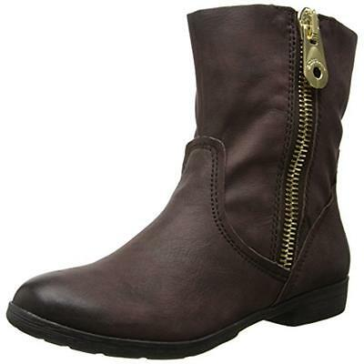 BCBGeneration 2931 Womens Rossy Brown Ankle Boots Shoes 7.5 Medium (B,M) BHFO