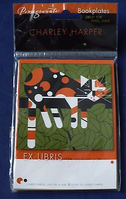 Pomegranate Bookplates Charley Harper Limp On A Limb New 24 Pack