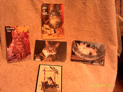 Cat Collectibles*Vintage POSTCARDS*12 Pcs*Unused*Not Posted