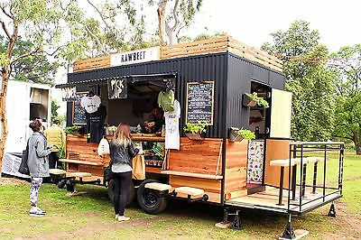 Unique Food Trailer with FREE hilux ute!!