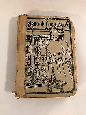 Antique 1911 Inglenook Cookbook Recipes from sisters of the Brethren Church