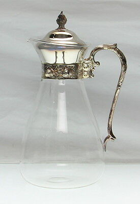 SHERIDAN Silver Plate Tilt With Pitcher