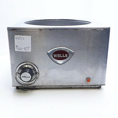 Wells - SW-10T - 11 Qt. Round Food Warmer,90°-212°F,120VAC, #SW-10T