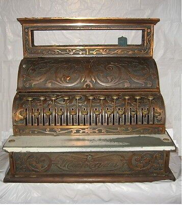 Antique Michigan Cash Register The National Cash Register Co early 1900s