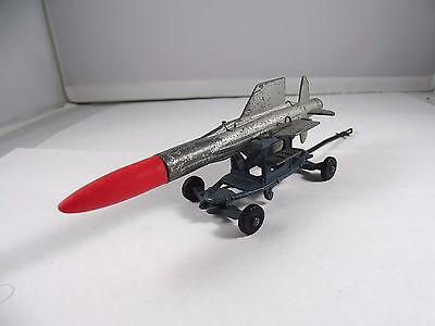 Corgi No. 350 Guided Missile With Trolley And New Nose Cone