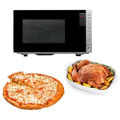 New 900W/2400W Convection Microwave Oven 25L Pizza Baking Defrost Digital Timer