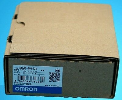 Brand New Omron switching power supply S8VK-G01524