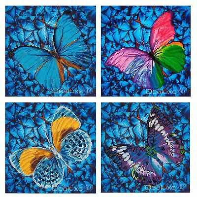 Diamond Dotz Diamond Embroidery Painting Cross Stitch Kit Mosaic - Butterfly