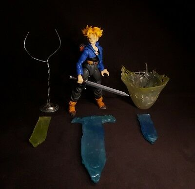 Trunks Figuarts custom effect lot sword energy blast NO FIGURE Dragon ball z dbz