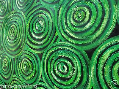 Art Painting  dreampools aboriginal By Jane COA Authentic Australia
