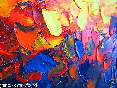 original art landscape modern canvas Abstract paintings  aboriginal