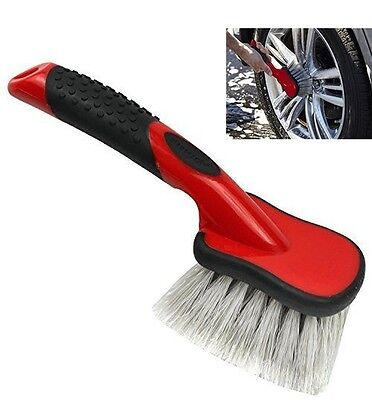 Tires Gently Scrub Auto Car Care Safely Clean Light Weight Wheel Brush Cleaning