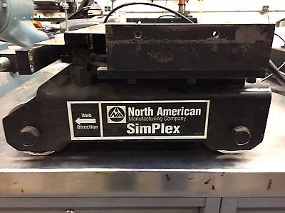 """Fives Web Guide North American Simplex  10"""" HDNC-MA-EQ Complete Fully Functional"""