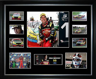 Chaz Mostert 2017 Limited Edition Framed Memorabilia