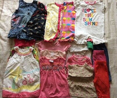 Baby Girls Bundle 3-6 Months Next Mothercare Mini Club Etc Great For Summer ☀️