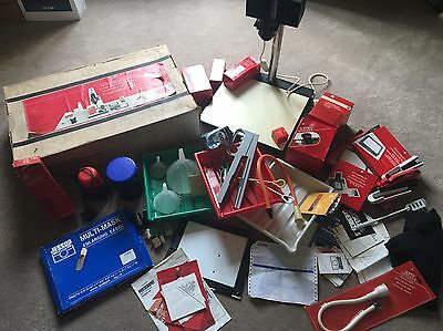 Darkroom Equipment Kit Paterson Photography Enlarger