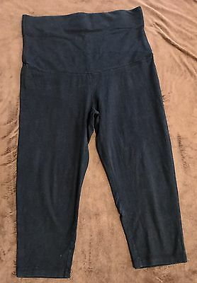 Black 3/4 Pants Size 14