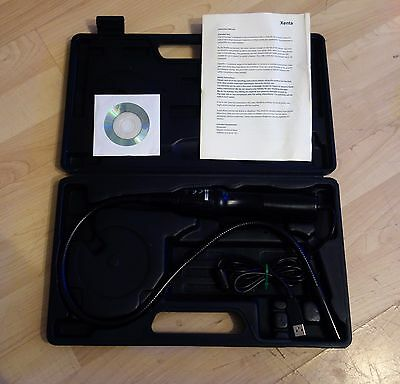 Xenta  Borescope Flexible USB Inspection Camera