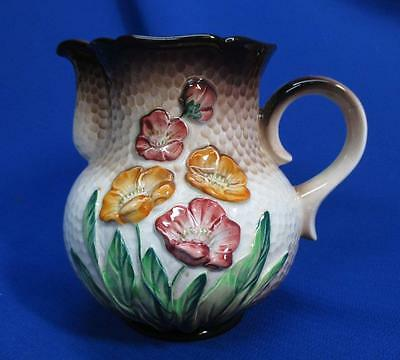 Earlier Carlton Ware Dimpled Floral Pitcher