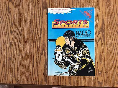 Sports Superstars #11 Mario Lemieux..htf..vf..
