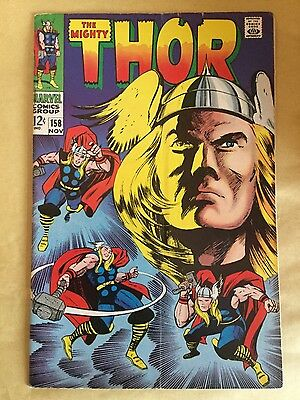 Marvel The Mighty Thor # 158 - Fine Minus