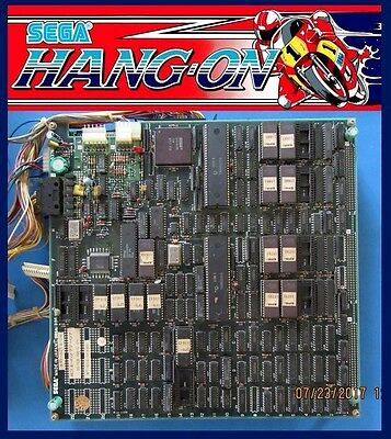 Arcade,Coin Operated, Amusement, Sega, Hang On, PCB Set, CPU, Board, 834-6277-07