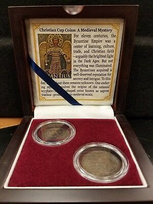 Christian Cup Coins: A Medieval Mystery Byzantine Old Money Coin Set (SKU49)