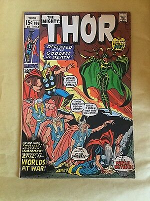 Marvel The Mighty Thor # 186 Very Fine / Near Mint Classic Hela cover Hot! Hot!