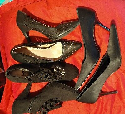 Lot of 3 pairs womens heels Sz 10 Impo Kenneth Cole  Restricted