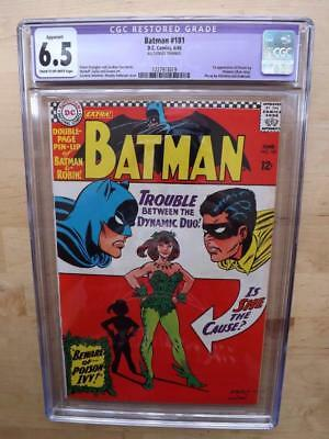 BATMAN #181 CGC 6.5R 1st. POISON IVY! POSTER INCLUDED! FREE U.K. POSTAGE !
