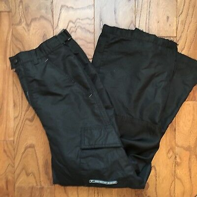 Youth Protection System Ski Snow Pants Black Size 14/16 Fleece lines