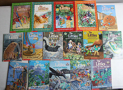 Lot of 16 THE LITTLES books JOHN PETERSON First Readers Chapter RL 2 3 Rescue AR