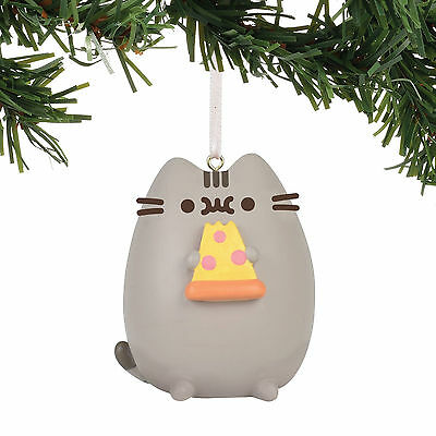 Pusheen I Love Pizza 2017 Christmas Ornament Dept 56 #4058305 NEW Free Shipping