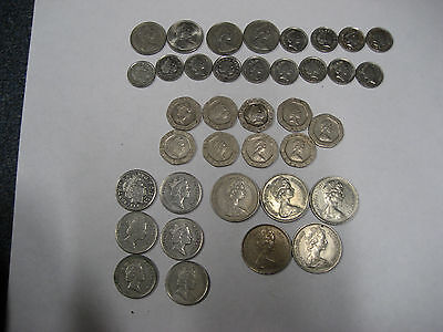 Large Lot of Great Britain coins all different